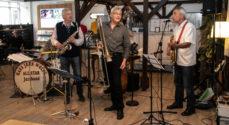 Det Sønderjyske Køkken bød på vagtler og jazzmusik