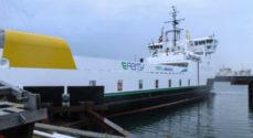 Færgen Ellen kommer tidligst i drift tirsdag