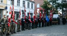 Udsendte soldater æret på Rådhustorvet