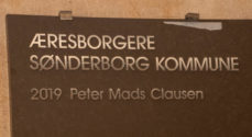 Billeder: Peter Mads Clausen er Æresborger