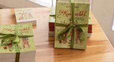 Bogen Kongeæblet er klar til børnene i Gråsten