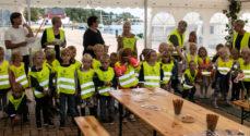 Billeder: 'Kongeæblet' klar til børnene