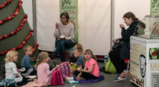 Billeder: Børn på æblefestival