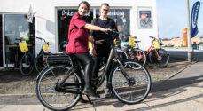Caras-medarbejdere skal i sadlen på elcykler fra Cykelservice Sønderborg