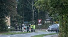 Politiet lader ingen komme forbi Alssund Gymnasiet