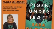Sara Blædel præsenterer sin nye krimi i Brecklings Bogcafé