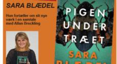 Rigtigt mange vil opleve Sara Blædel i Brecklings Bogcafé