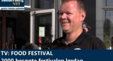TV: Food Festival – 2000 besøgte festivalen lørdag