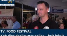 TV: Food Festival – køb dine dagligvarer online – helt lokalt