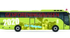 Museum Sønderjylland sender Genforeningsbussen rundt til alle skoler