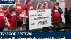 TV: Food Festival - Penge til Julemærkehjemmet i Kollund