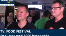 TV: Food Festival – en succes med 4000 besøgende