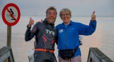 Mød den allerførste der svømmer Danmark Rundt - en tur på 1317 km