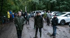 To skolebørn satte gang i affalds-opsamling i Sønderskoven