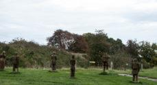 Billeder: WoodSculpture-soldater står stadig i skansen