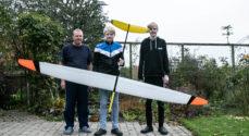 Familien Krogh skal til VM med deres modelfly
