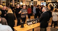 Wohlenberg og Det Sønderjyske Køkken bød på masser af vin og canapé