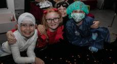 Halloween-billeder fra SFO'en i Privatskolen Als