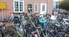 Der må ikke holde cykler ved Rutebilstationen den 15. oktober