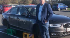 Lufthavnen: Jan Rytkjær Callesen fandt sin bil uden hjul