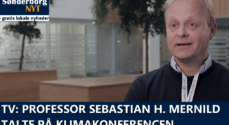 TV: Sebastian H. Mernild talte på klimakonferencen