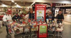 KGGO samler juledonationer i SuperBrugsen i Gråsten