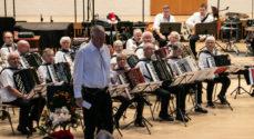 Sønderborg Harmonikaklub spillede adventskoncert