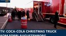 TV: Coca-Cola Christmas Truck kom forbi Augustenborg
