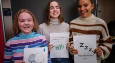 To Statsskole-elever kan nu kalde sig Årets Forskerspire