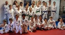 Taekwondoklubben havde kæmpere til 'bælte-eksamen'