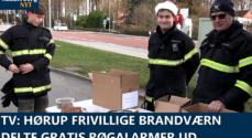 TV: Hørup Frivillige Brandværn delte gratis røgalarmer ud