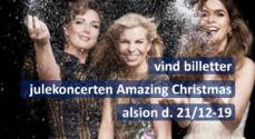 Nu kan du vinde billetter til julekoncerten Amazing Christmas i Alsion