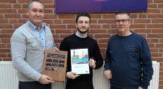 Yasser Ammar Salqini vinder EUC Syd-Prisen