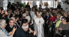 Lucia-optog og julehygge i Privatskolen Als