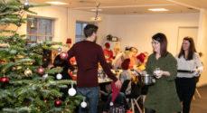 Billeder: Ansatte hos Caras - og deres børn - julehygger