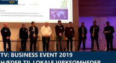 TV: Business Event 2019 – hæder til lokale virksomheder