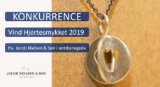 Julekonkurrence: Vind Hjertesmykket 2019 fra Jacob Nielsen & Søn i Jernbanegade