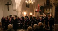 Motetkoret synger i Sct Marie Kirke