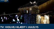 TV: Violvej klædt i julelys