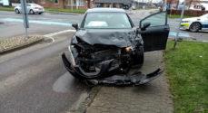 Bilist i tysk udlejningsbil stak af fra uheld