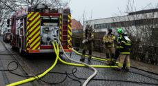 Brand i taglejlighed på Jomfrustien