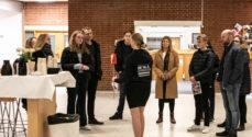 Mange unge besøgte Det Blå Gymnasium