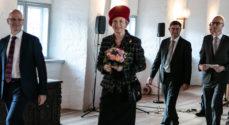Prinsesse Benedikte åbnede '100 år med Danmark' med et mojn
