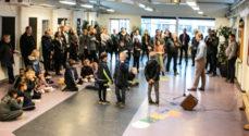Privatskolen Als fejrer byggegrund-overtagelse med ringridere og korte taler