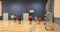 Nordals Skolen spiller fodbold efter skoletid