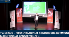 TV: GF2020 - Præsentation af Sønderborg Kommunes markering af Genforeningen