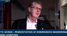 TV: GF2020 – Præsentation af kommunens markeringer – Erik Lauritzen