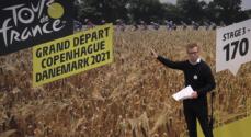 Tour-rytterne kommer til 'Verdens grønneste målby'