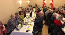 Landsbylaug: Afstemningsfest i Holm med udnævnelse af æresmedlem