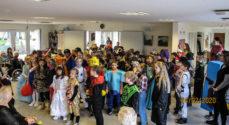 Udklædte børn besøgte Tandsbjerg Plejecenter